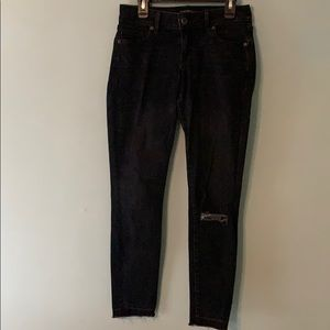 Lucky Brand womens black denim